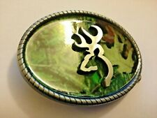 Browning guns Belt Buckle BROWNING Clay pigeon hunting Metal Belt buckle (only)