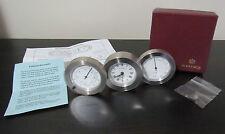 Travel Desk Clock  Alarm Thermometer Hygrometer Mayor's