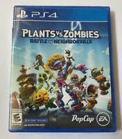 New Sealed Playstation 4 Plants vs Zombies Battle For Neighborville