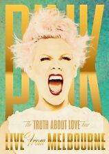 P!NK The Truth About Love Tour Live From Melbourne DVD NEW PINK NTSC Region ALL