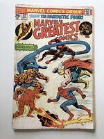 Marvel's Greatest Comics #55 Fantastic Four Spiderman Thor Dardevil Vintage