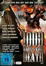 9 Western Klassiker 1000 WAYS TO FIND DEATH John Wayne MARLON BRANDO  DVD Box