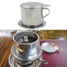 Rotary Coffee Dripper Brewing Pot Coffee Filter Brew Coffee Pot Stainless Steel