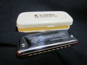 Hohner Golden Melody Key of D #542 Germany