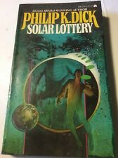 PHILIP K DICK @ SOLAR LOTTERY 70s Ace Ed. of Dick's 1st Book Great Cover! VG-