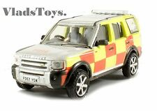 Oxford Military 1/76 Land Rover Discovery Mk3 Nottinghamshire Fire dept 76LRD005