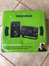 Insignia 3 Way Indoor Outdoor Speakers 40 Watts IS-SP3WAY