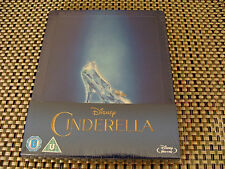 Blu Steel 4 U: Cinderella : Limited Edition Disney Embossed Steelbook Sealed