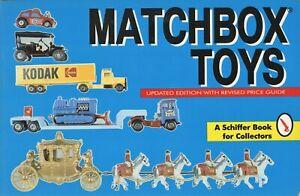 Miniature Matchbox Toys -  Models Dates / Illustrated Book + Values