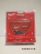 MILWAUKEE GENUINE 48-59-2401 M12, 12VOLT CHARGER-NEW IN SEALED PAK FREE SHIP!!!