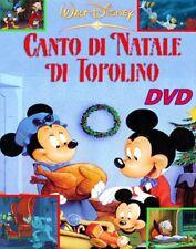 CANTO DI NATALE DI TOPOLINO - DVD Walt Disney ITALIANO 1983 Christmas Carol