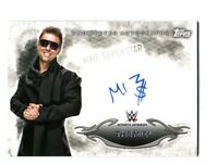 WWE The Miz 2015 Topps Undisputed Authentic On Card Autograph FD30