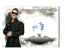 WWE The Miz 2015 Topps Undisputed Authentic On Card Autograph