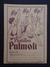 Protège cahier PASTILLES PULMOLL football violet Wachbuch copybook cover