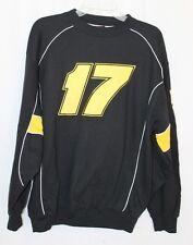 MATT KENSETH 17 NASCAR RACING Black Sweatshirt Mens Medium Size M EUC!! Dewalt