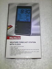 Digital Weather Station + Hygrometer + Thermometer + Alarm Clock Table Desk