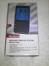 Digital Weather Station + Hygrometer + Thermometer + Alarm Clock Table Desk