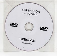 (GV174) Young Don Feat G Frsh,  Lifestyle - DJ DVD