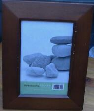 Impressions 4x6 Frame - BRAND NEW - Medium Wood Finish - HANG OR TABLE TOP