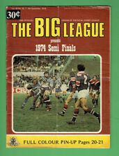 #HH1.  BIG LEAGUE MAGAZINE 7-8/9 1974, MANLY & CANTERBURY PLAYER PINUP