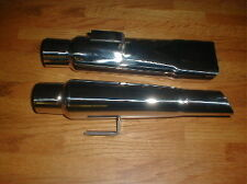 "1968 DODGE CHARGER NEW 2 1/4"" I.D. STAINLESS EXHAUST TIPS"