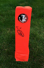 Florida State #7 CHRISTIAN PONDER Signed Autographed Football Pylon COA PROOF