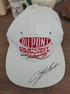 1993 Autographed Jeff Gordon Rookie Dupont NASCAR cap hat snapback vintage