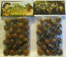 2 Bags Of Blazing Saddles Western Movie Promo Marbles