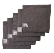 AUTOGLYM High Quality Grey Microfibre Car Polishing Cloth x 5 Free P & P