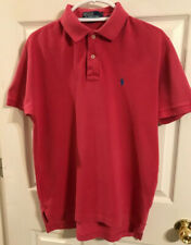 Polo Ralph Lauren Polo Shirt Dark Pink Men Size Medium