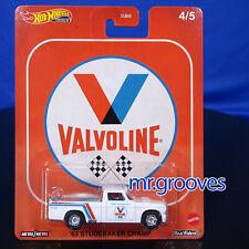 '63 Studebaker Champ 2020 Hot Wheels Pop Culture Fuelers 4/5 Valvoline Oil
