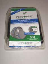 Vet's Best Perfect Fit Washable Male Wrap Small / Medium New -071701