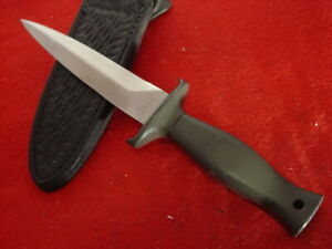 "Parker Cut Co Japan 9"" Fixed Blade Dagger Sheath Knife MINT"