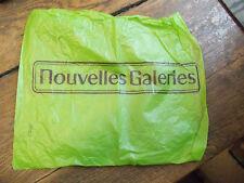 sac d'emballage  nouvelles galeries
