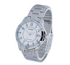 -Casio MTPV004D-7B Men's Analog Metal Watch New & 100% Authentic