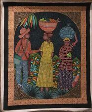 Stunning Painting by Late Haitian Artist Saincilus Ismael (1940-2000)