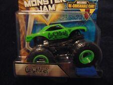 GAS MONKEY 2018  Hot Wheels Monster Jam Truck  w/ Re-crushable Car