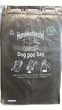 Gassibeutel Hundekotbeutel Hundebeutel 1000 Stück Schwarz Top Qualität PM