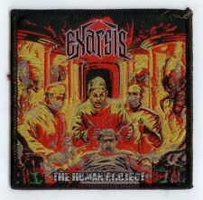 Exarsis Woven Patch the Human Project ricamate Thrash Metal from Greece
