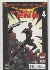 """Battleworld """"Ultimate End"""" Secret Wars (Marvel) #4 NM+"""