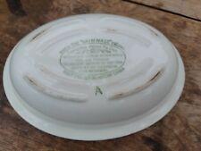 Vintage Grimwades Pie Dish 3/4 Pint Oval VGC
