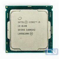 Intel Core i3-8100 3.6 GHz 6MB 8GT/s SR3N5 LGA1151 CPU [Grade: Fair]