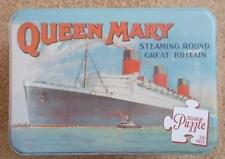 **MR PULTENEY'S  (QUEEN MARY)  500 PIECE JIGSAW IN A TIN RETRO ** TPUZMR01