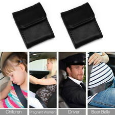 2 X Car Seat Belt Adjuster Covers Shoulder Neck Protector Strap Safe Comfort