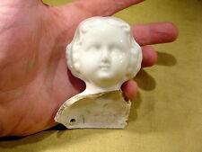 large excavated vintage victorian shoulder plate doll head age 1860 Kister 9818