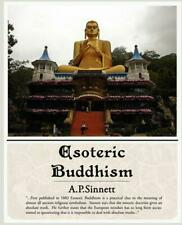 Esoteric Buddhism by A.P. Sinnett (English) Paperback Book Free Shipping!
