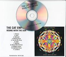 THE CAT EMPIRE Rising With The Sun 2016 UK 11-track promo test CD
