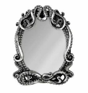 "Kraken Mirror by Alchemy of England V77 - Width 7.28"" x Height 9.25"""