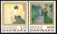 Denmark 1991 Art/Painting/Artists/Woman 2v set (n30039)