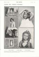 1906 Child Models Emily Weyler Beryl Morse Emil Schaffer